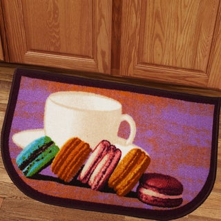 Delightful Macaroon 18x30 Kitchen Slice Rug
