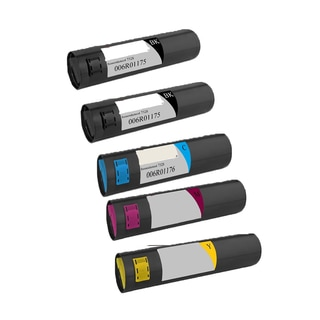 Xerox 7328 Compatible Toner Cartridge 2 Black, 1 Cyan, 1 Magenta, 1 Yellow For WorkCentre 7328 7335 7345 7346 ( Pack of 5 )