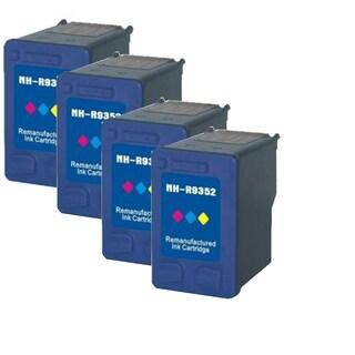 HP C9352A XL (HP 22) Black Compatible Inkjet Cartridge For D1360 , D1368 , D1560 , D1568 , D2320 , D2330 , D2345 ( Pack of 4 )