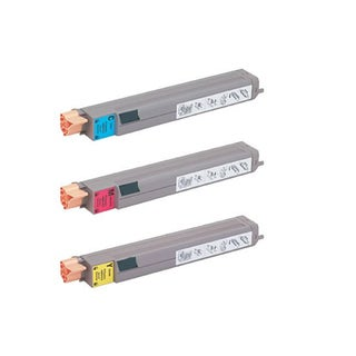 Xerox 7400 Compatible Toner Cartridge High Yield Cyan Magenta Yellow For 7400 7400N ( Pack of 3 )