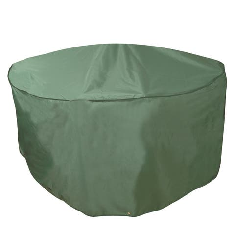 Bosmere Deluxe Weatherproof 84-inch Round Patio Set Cover
