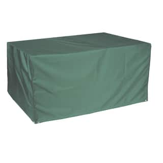Bosmere Deluxe Weatherproof 67x37 Rectangular Patio Table Cover. Patio Furniture Covers For Less   Overstock com