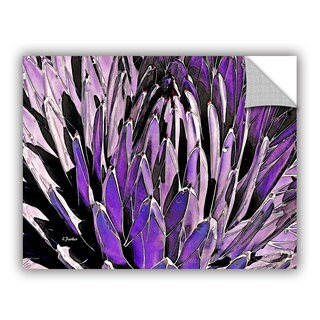 ArtAppealz Linda Parker 'Queen Victoria Agave' Removable Wall Art (4 options available)