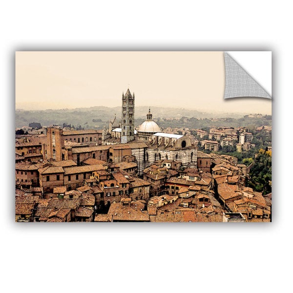 ArtAppealz Linda Parker 'Siena Landscape ' Removable Wall Art