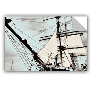 ArtAppealz Linda Parker 'Sailing On Star Of India I' Removable Wall Art