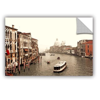 ArtAppealz Linda Parker 'Grand Canal From Rialto ' Removable Wall Art