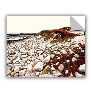 ArtAppealz Linda Parker 'A Pebble Beach' Removable Wall Art