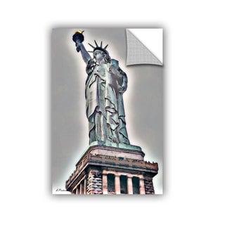 ArtAppealz Linda Parker 'Nyc Lady Of Light' Removable Wall Art