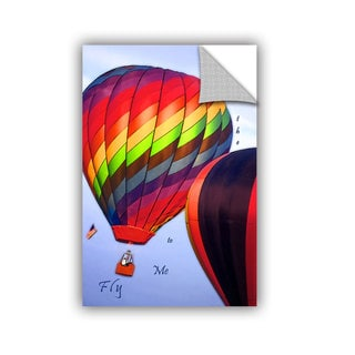 ArtAppealz Linda Parker 'Fly Me To The Moon' Removable Wall Art
