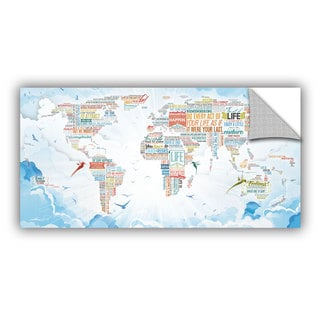 ArtAppealz Mikael B 'World Of Life: In Heaven' Removable Wall Art