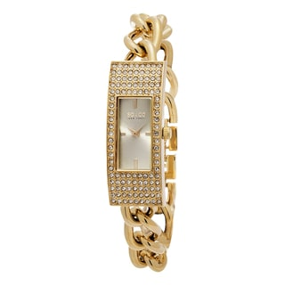 SO&CO New York Women's Madison Quartz Goldtone Stainless Steel Crystal Bracelet Watch