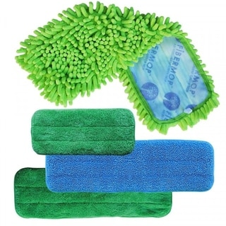 Fibermop 3+1 Piece Replacement Mop Set