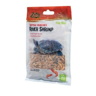 Zilla Reptile Munchies River Shrimp