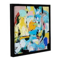 ArtWall Allan Friedlander 'World Of Action' Gallery-wrapped Floater-framed Canvas