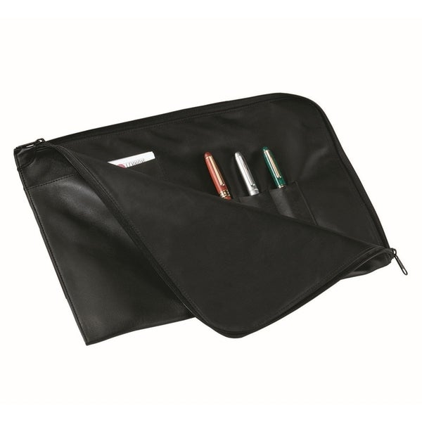 Royce Leather Executive 13-inch Laptop Sleeve and Document Oraganizer