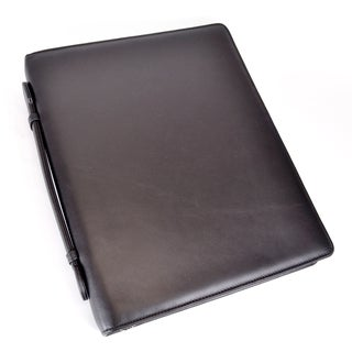 Royce Leather Luxury Tablet iPad Organizer and Writing Portfolio Brief
