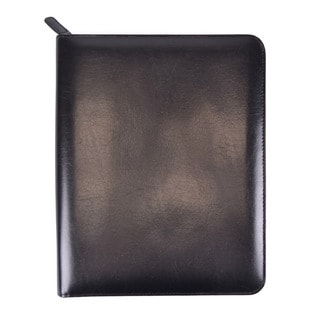 Royce Leather Ziparound iPad Case and Writing Portfolio Organizer