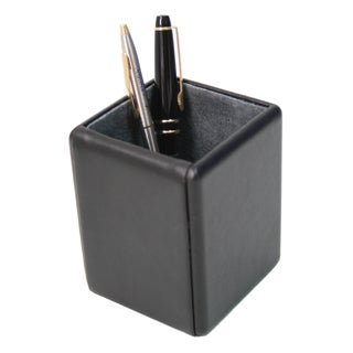 Royce Leather Pen Pencil Desk Accessory in Genuine Leather