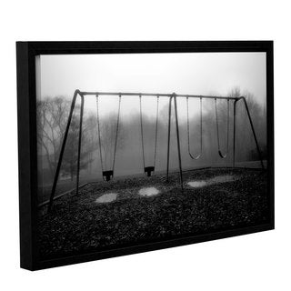 ArtWall Steve Ainsworth 'Silent Swing' Gallery-wrapped Floater-framed Canvas