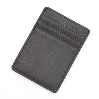 Royce Leather Slim Magnetic Money Clip Wallet