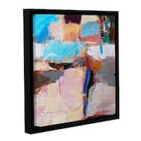 ArtWall Allan Friedlander 'Nothing Of Everything' Gallery-wrapped Floater-framed Canvas