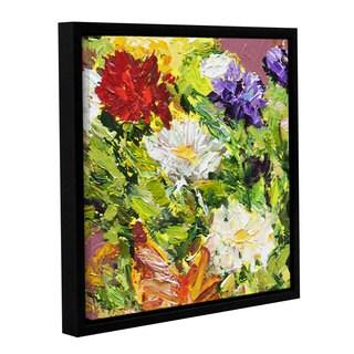 ArtWall Allan Friedlander 'Giving Love 2' Gallery-wrapped Floater-framed Canvas