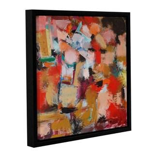 ArtWall Allan Friedlander 'Entropy' Gallery-wrapped Floater-framed Canvas
