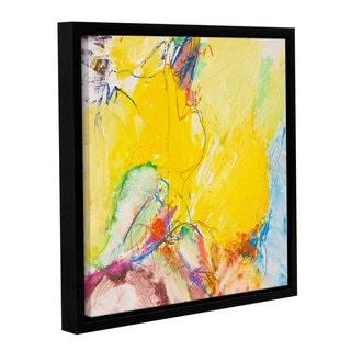ArtWall Allan Friedlander 'Crystal' Gallery-wrapped Floater-framed Canvas