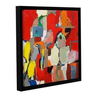 ArtWall Allan Friedlander 'Costal Sunrise' Gallery-wrapped Floater-framed Canvas