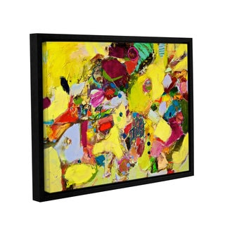 ArtWall Allan Friedlander 'Bumble' Gallery-wrapped Floater-framed Canvas