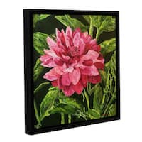 ArtWall Allan Friedlander 'Bloom' Gallery-wrapped Floater-framed Canvas
