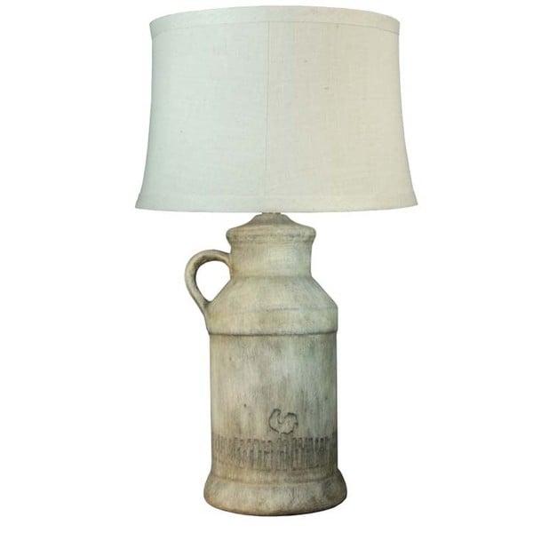 Fangio Lighting Barnyard Rooster Ceramic Table Lamp