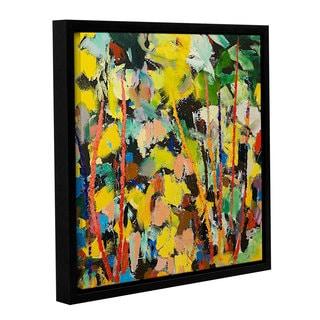 ArtWall Allan Friedlander 'Airglow' Gallery-wrapped Floater-framed Canvas