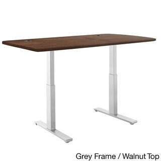Autonomous SmartDesk - Height-Adjustable Standing Desk - Dual Motor - Gray Frame - Classic Top (2 options available)