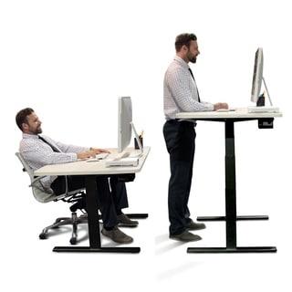 adjustable standing desk office. Autonomous SmartDesk - Height-Adjustable Standing Desk Dual Motor Black Frame Classic Adjustable Office