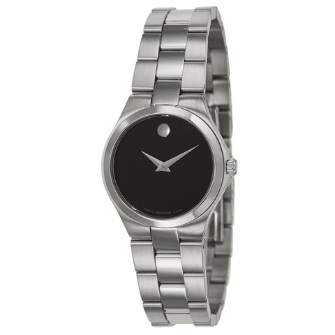 Movado Women's 'Movado Collection' Stainless Steel Swiss Quartz Watch