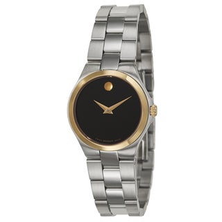 Movado Women's 'Movado Collection' Yellow Goldplated Stainless Steel Swiss Quartz Watch