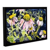 ArtWall Derek Mccrea 'Echinacea' Gallery-wrapped Floater-framed Canvas