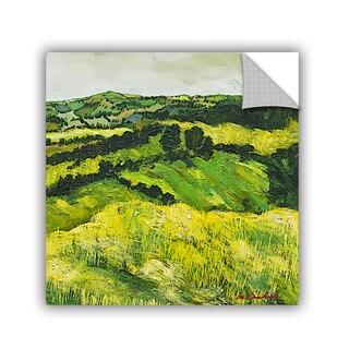 ArtAppealz Allan Friedlander 'Tall Grass Path' Removable Wall Art