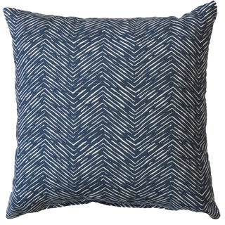 Premiere Home Cameron Premier Navy 17x17 Throw Pillow