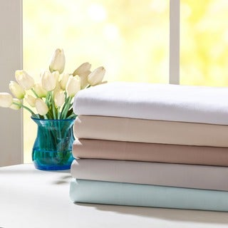 Madison Park Forever Percale Pre-Shrunk Cotton Sheet Set