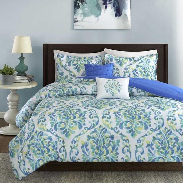 intelligent design dina 5-piece comforter set - free shipping
