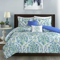 Intelligent Design Dina Aqua 5-piece Comforter Set