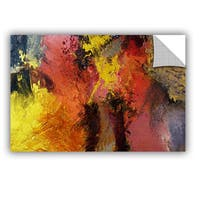 ArtAppealz Allan Friedlander 'Fire And Brimstone' Removable Wall Art