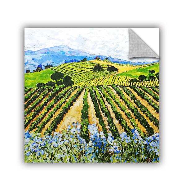 ArtAppealz Allan Friedlander 'Early Crop' Removable Wall Art