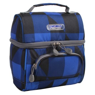 J World Block Navy Corey Lunch Bag