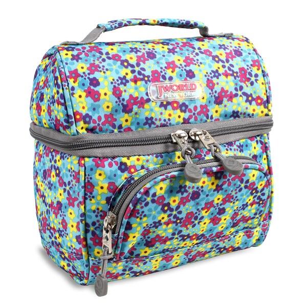 Shop J World Floret Corey Lunch Bag - Free Shipping On Orders Over  45 -  Overstock.com - 10404299 9627ea35d3919
