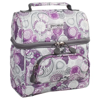 J World Purple Lemon Corey Lunch Bag