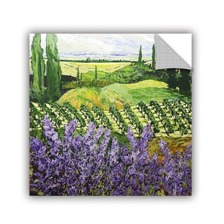 ArtAppealz Allan Friedlander 'Chinaberry Hill' Removable Wall Art
