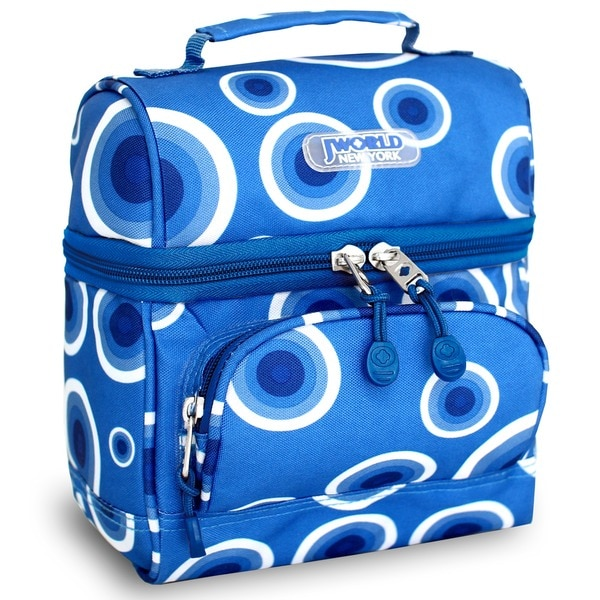 Shop J World Target Blue Corey Lunch Bag - Free Shipping On Orders ... 0aa26a65f5